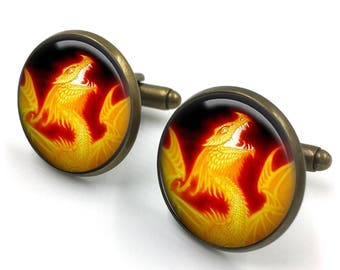 Dragon Cuff Links, Dragon Cufflinks, Dragon Jewellery, Dragon Jewelry,Men Dragon Cufflinks,Dragon Gifts for Men,gift for men,gift for him 04