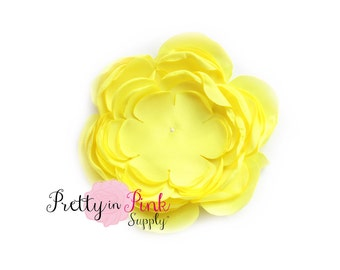 Yellow Chrysanthemum Flower No Center- You Choose Quantity- Diy Headband Supplies- Flower- Wholesale- Supply Shop- DIY Flower Headband