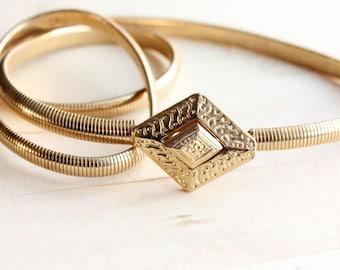 Diamond Shape Puzzle Coil Belt - S