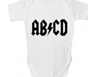 ABCD Baby Grow