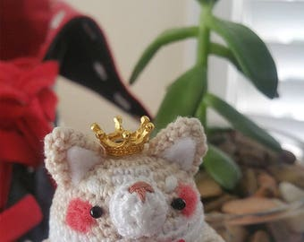 Amigurumi The King Welsh Corgi (Beige Corgi)