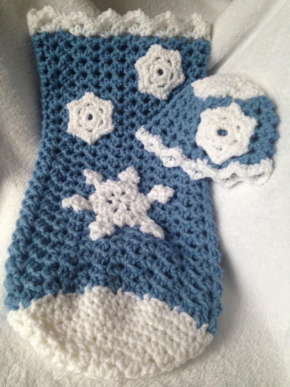 Crochet PATTERN - Snowflake baby hat crochet pattern, baby hat ...