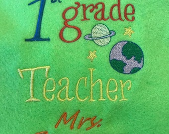 Canvas tote bag for Teacher's day