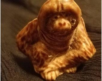 Wade Whimsies Orangutan Porcelain Figurine
