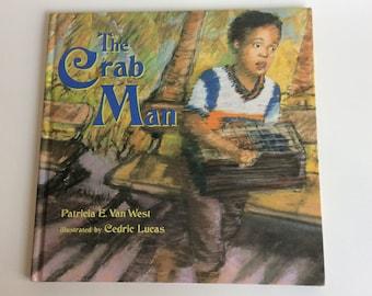 Vintage Children's Book, The Crab Man, First Edition