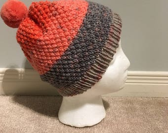 Knitted toddler hat