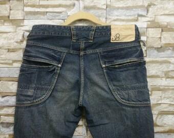 Johnbull Denim Jeans Japan Vintage John Bull Pants Medium