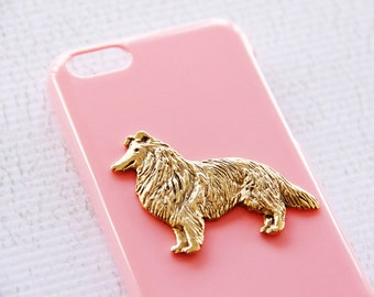 iPhone X Case Border Collie Girls Cassic Pink Pet Covers Hard Cover Smartphone Shell iPhone 6 Case iPhone 6 Plus Cases Phone Plastic