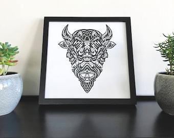 Beast III - Print