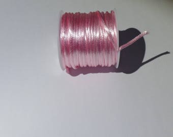 Pastel pink knotting in 10 m