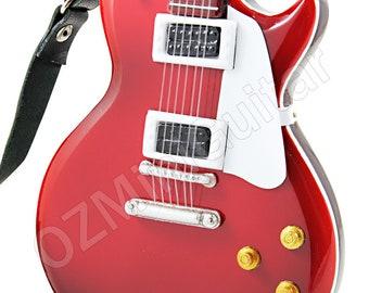 Miniature Guitar Les Paul Red Color