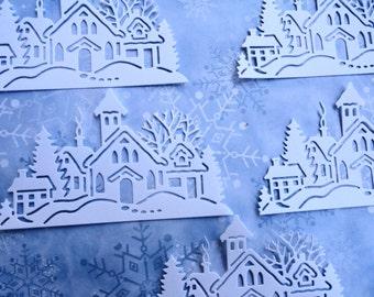 Winterland Villiage  Die Cuts