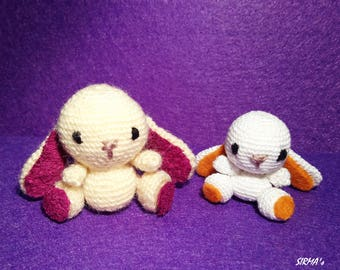 Bunny Crochet Pattern - Amigurumi Bunny Pattern