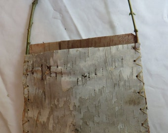 "9"" Birch Bark Container, container, birch bark, bark"