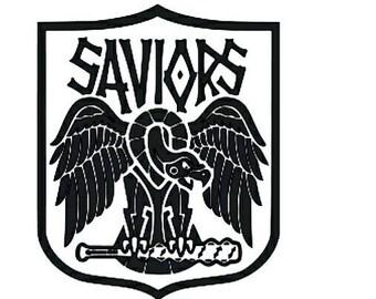 The Walking Dead / Saviors vinyl sticker decal