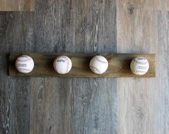 Baseball hat hanger or rack