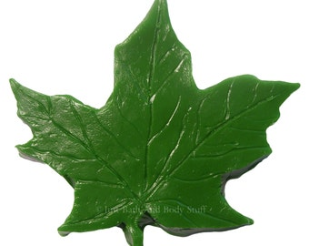 Leaf Soap, Maple Leaf Soap, Fall Soap, Autumn Soap, Guest Sized Soap, Novelty Soap, You pick scent & color