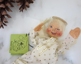 Annalee Christmas Angel - Christmas Posable Ornament, Annalee Mobility Doll Tree Topper