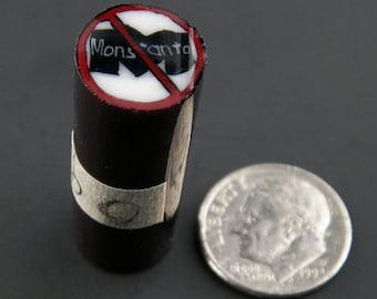 Anti-Monsanto Murrine Boro Cane 9 grams - 114 O