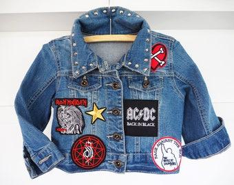Lil'Rockers kids Battle Jacket. Size 1-2