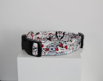 Doggies dog collar, Dog collar, Handmade dog collar
