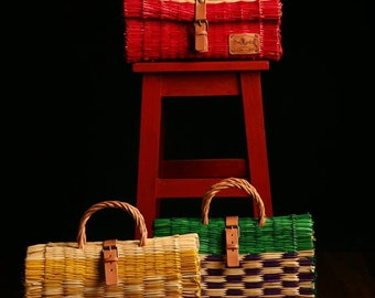 Traditional Reed Baskets from Portugal ... original and artisanal handcrafting