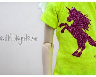 Slim Mini BJD T-Shirt - Unicorn