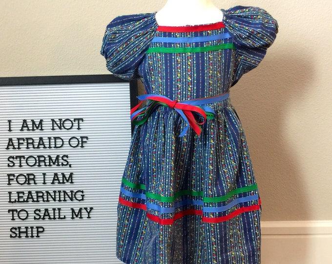 toddler vintage stripe dress