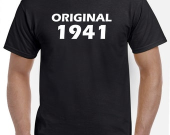 77th Birthday Shirt Gift-Original 1941
