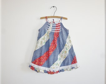 Vintage Toddler Girl's Sundress