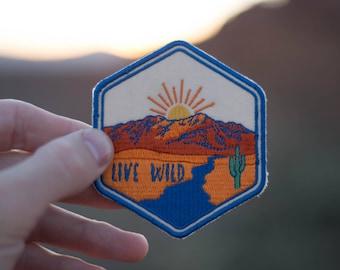 Live Wild Patch