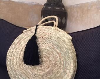 My round basket - Parisian collection