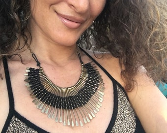 Gold and Fierce necklace