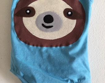 SLOTH LEOTARD - Sloth costume- Zootopia birthday - Zootopia Party - Zoo Birthday - Zoo Party