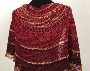 Wool Shawl Wrap Scarf, Elegant Shawl Wrap Scarf, Holiday Shawl / Wrap / Scarf Dazzling Beads and Sequins,