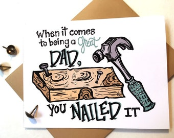 Nailed It Father's Day Greeting Card