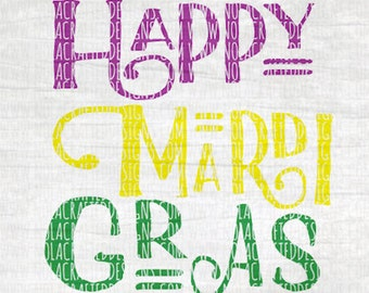 Happy Mardi Gras Svg Cut File - Mardi Gras Svg Cut File - New Orleans Svg Cut File - Throw me Something Mister Svg Cut File - Louisiana Svg