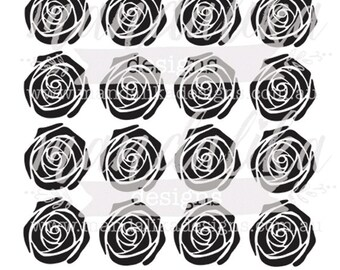 ROSES Digital Cut File