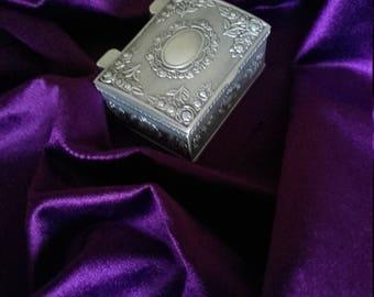 Carved Metal box