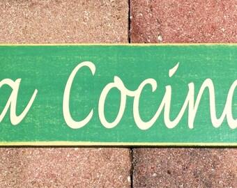 LA COCINA (elegir Color) cocina española rústico Shabby Chic signo