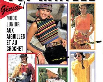 33 Modèles mode junior au tricot et au crochet