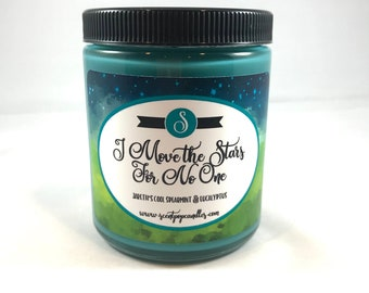 I Move the Stars for No One, Labyrinth Inspired Soy Candle