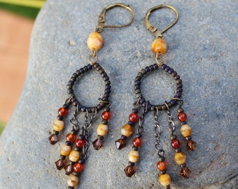 Earrings - Stone & Boho