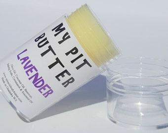 Natural Deodorant - Scented Deodorant - Lavender Scent Deodorant - Homemade Deodorant - Preservative Free Deodorant - Aluminum Free