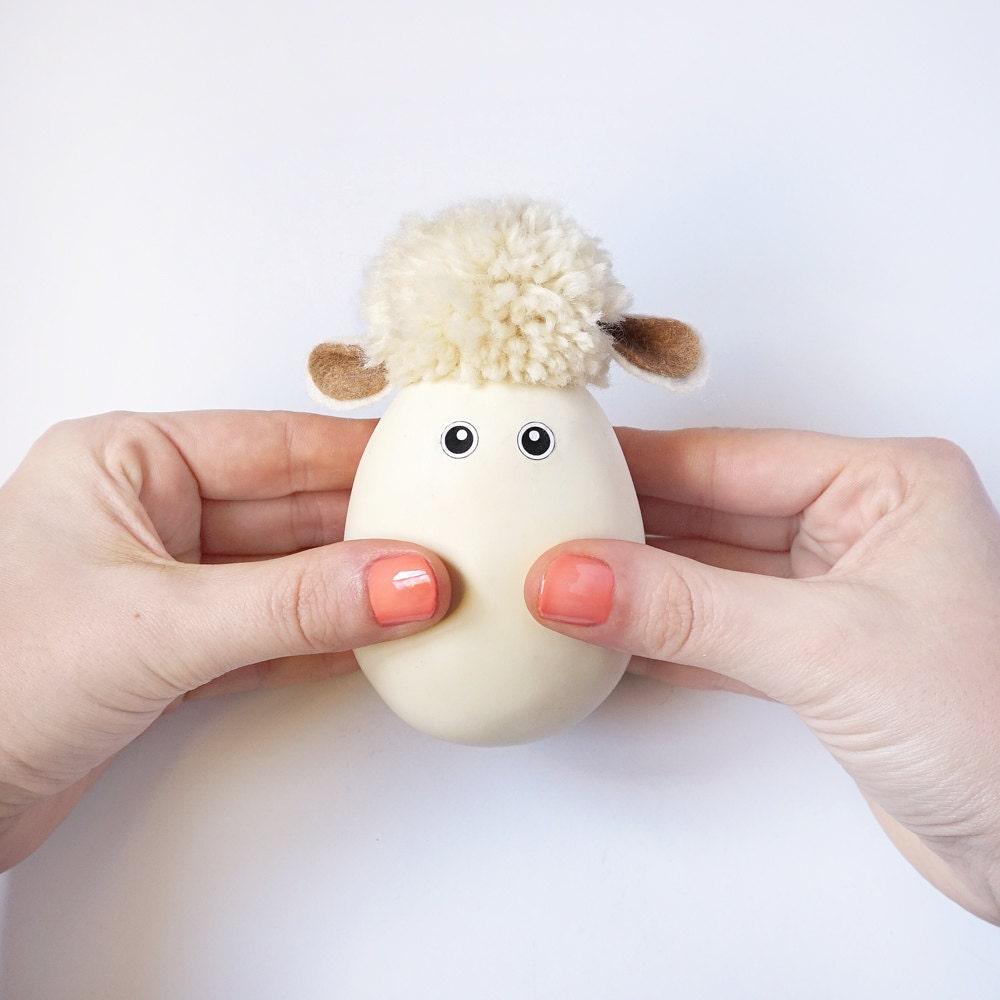 Lamb easter gift fidget toy stuffed animal sheep stress zoom negle Choice Image