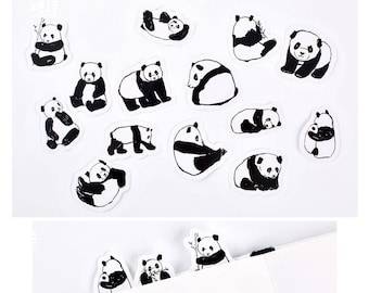 Panda Stickers Pack SM223228 45pcs