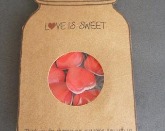 Love is Sweet Sample/  1 x Love is Sweet Wedding favour
