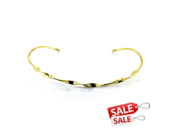 Gold Choker Nacklace Gold Collar Necklace Gold Necklace Brass Choker Necklace Gold Brass Necklace Brass Collar Necklace 131