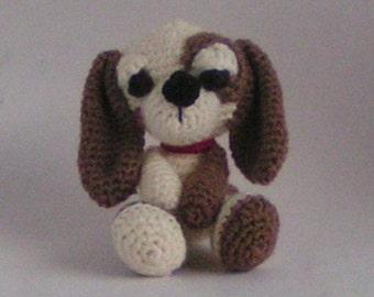 """Dog """"Spotty"""" crochet pattern"""