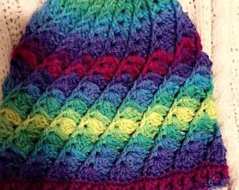 Beautiful shells hat